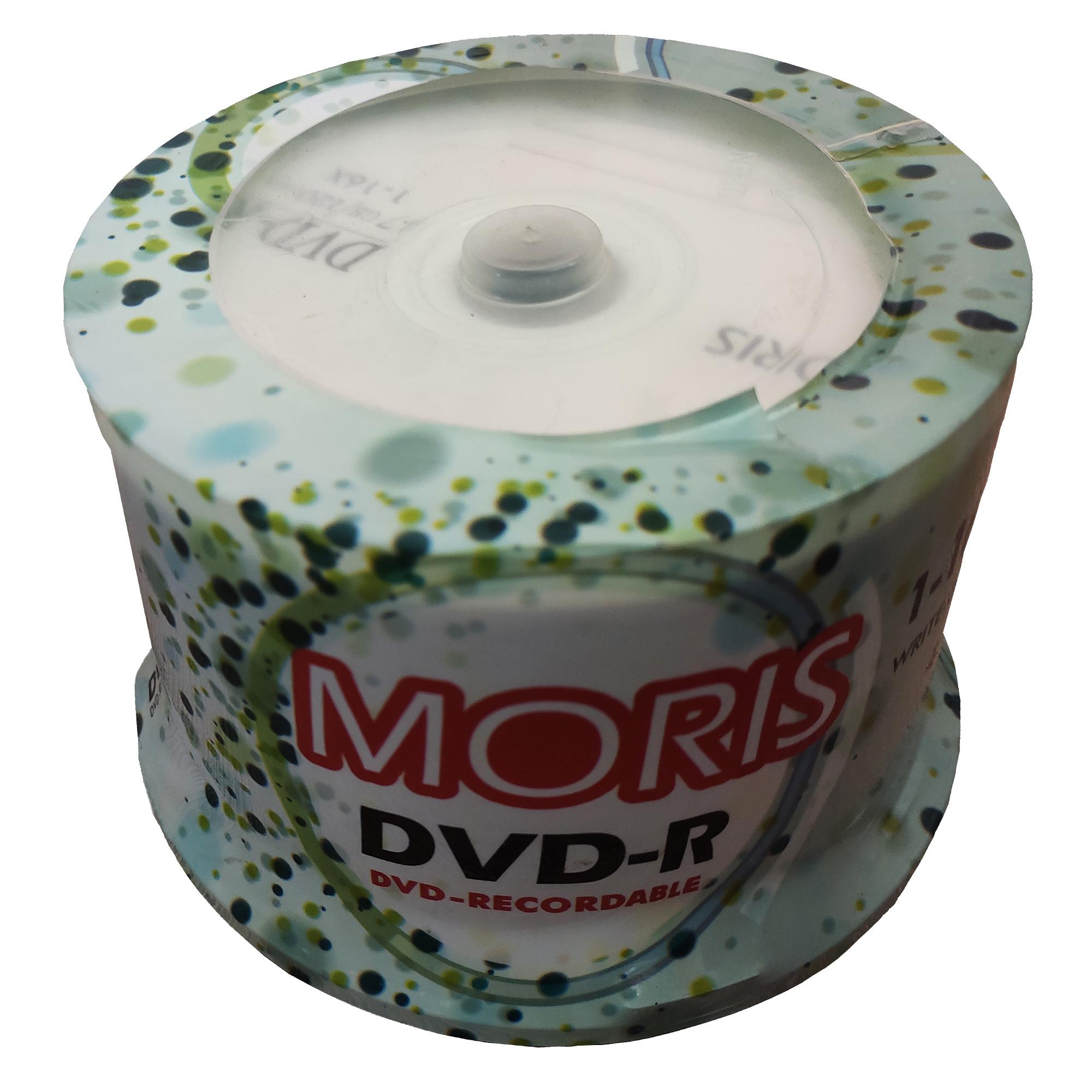 دی وی دی خام موریس مدل 16x بسته 50 عددی