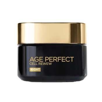 کرم ضد چروک شب لورآل مدل Age Perfect Cell Renew حجم 50 میلی لیتر