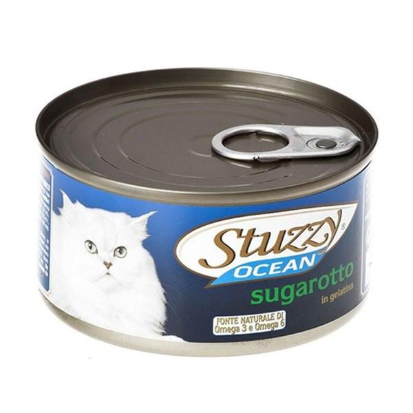 کنسرو گربه استوزی مدل sugarotto وزن ۱۸۵ گرم