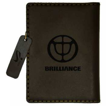 کیف مدارک چرم بیسراک طرح برلیانس کد 301