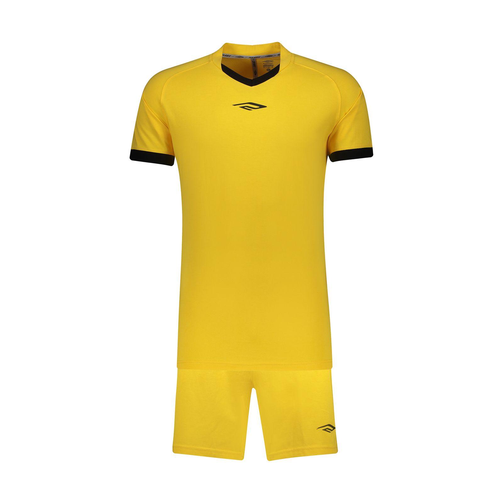 ست پیراهن و شورت ورزشی مردانه استارت مدل v1001-1 -  - 2