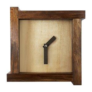ساعت دیواری چوبی کد 027