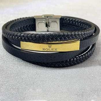 دستبند مردانه مدل چرمکد 77894