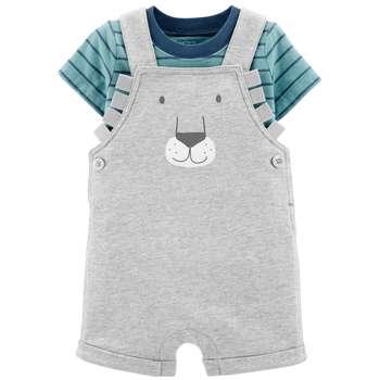 ست تی شرت و سرهمی نوزادی کارترز مدل 1447