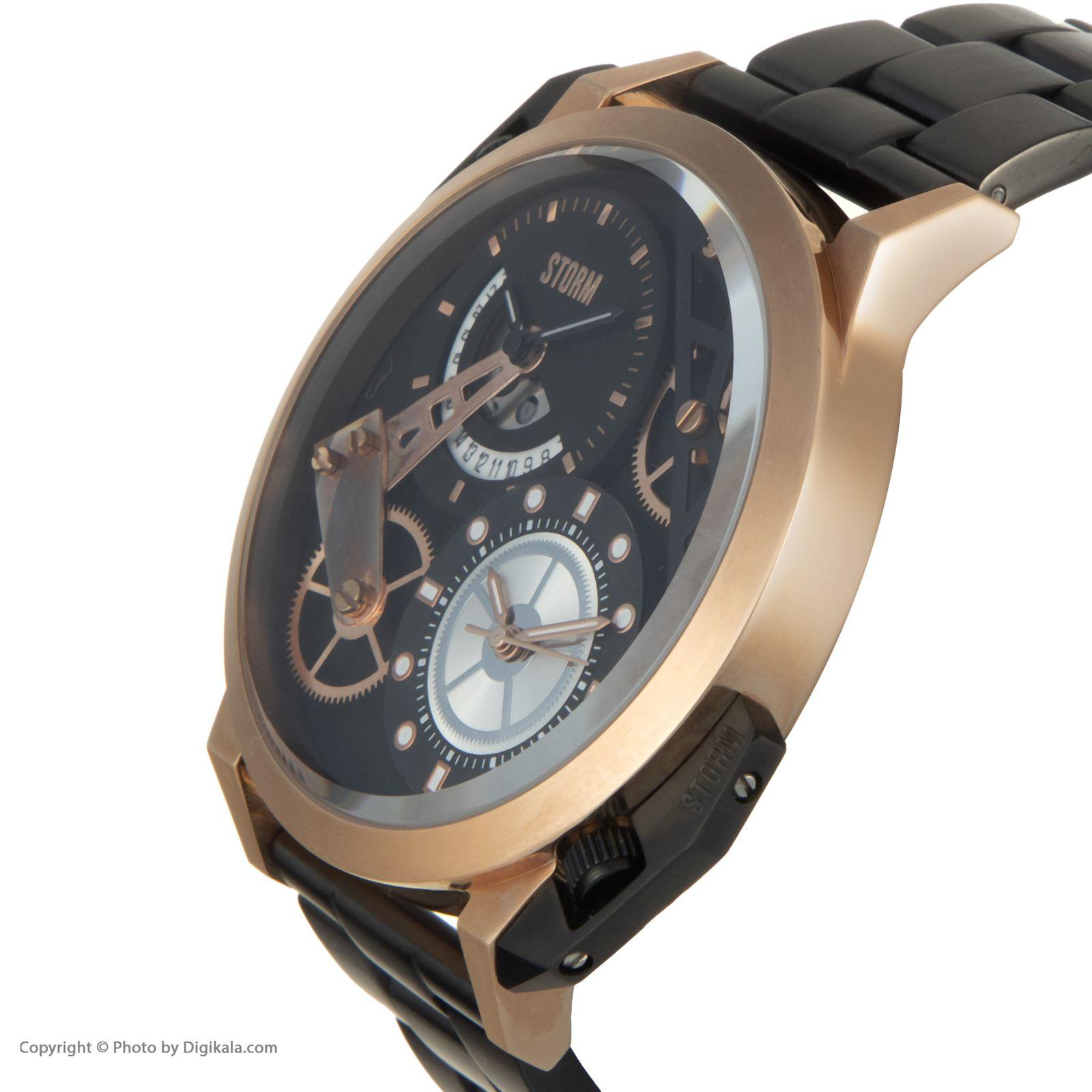 ساعت مچی عقربه ای مردانه استورم مدل ST 47135-RG -  - 4