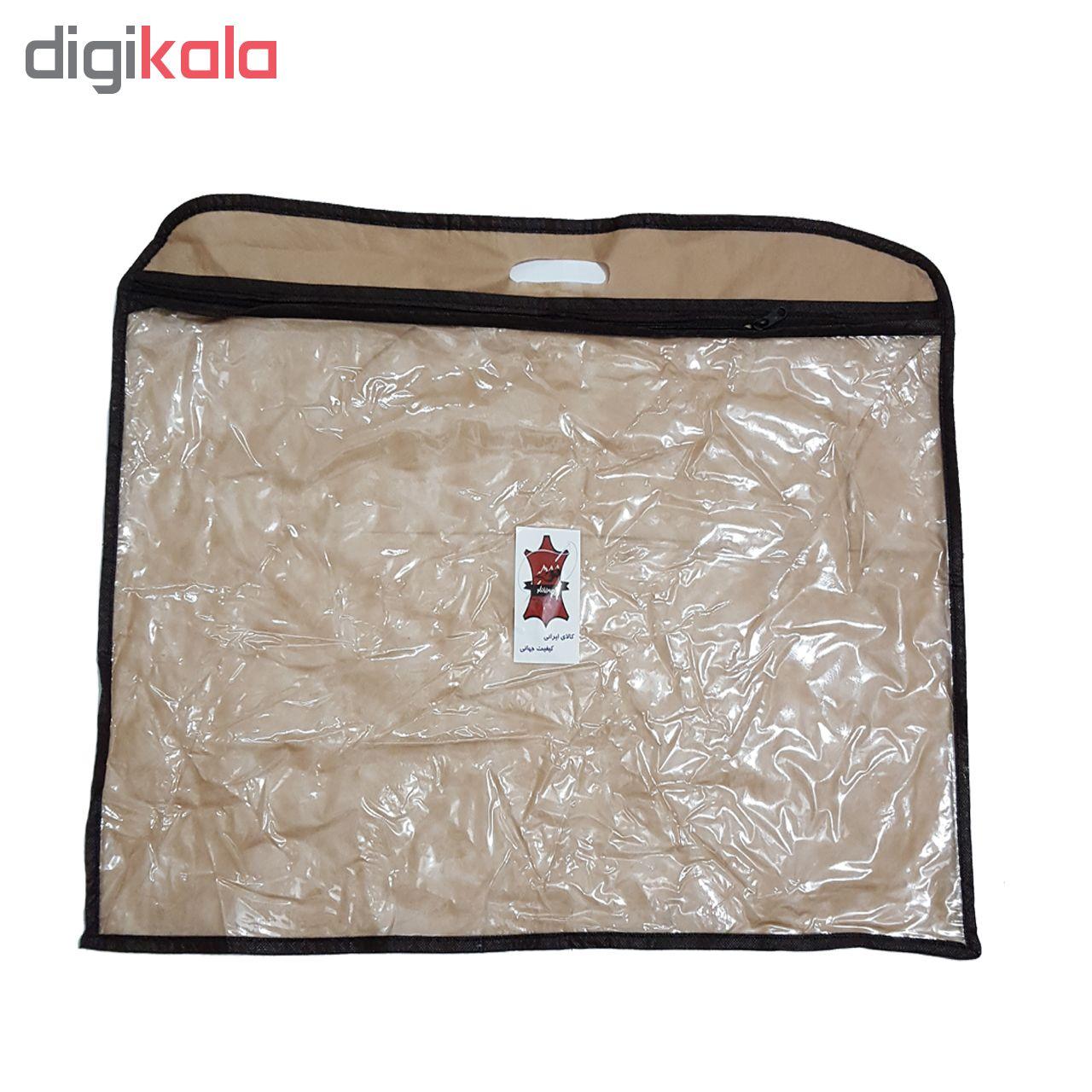 کیف اداری چرم زانکو کد KA-00100