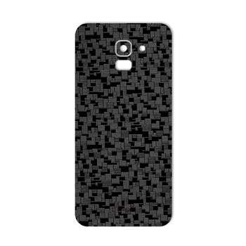 برچسب پوششی ماهوت مدل Silicon Texture مناسب برای گوشی  Samsung J6