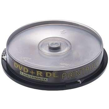 دی وی دی خام دیتالایف مدل DVD+R DL بسته 10 عددی