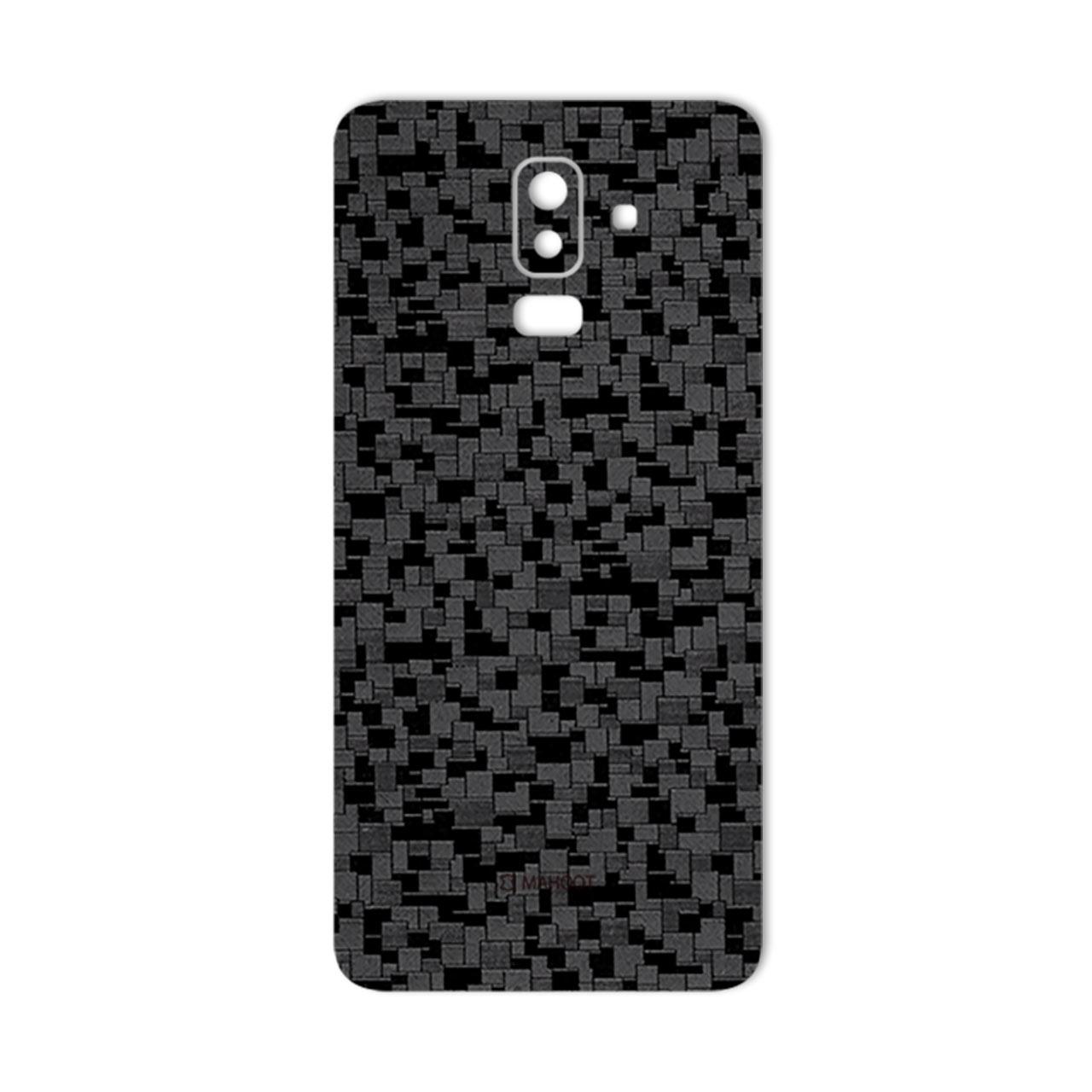 برچسب پوششی ماهوت مدل Silicon Texture مناسب برای گوشی  Samsung J8