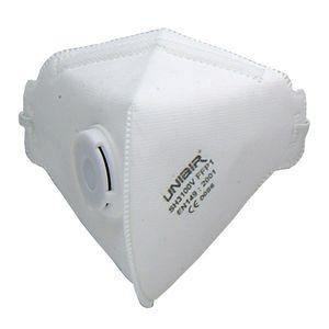 ماسک تنفسی والو دار پارکسون ABZ مدل FFP1NR کد SH3100V