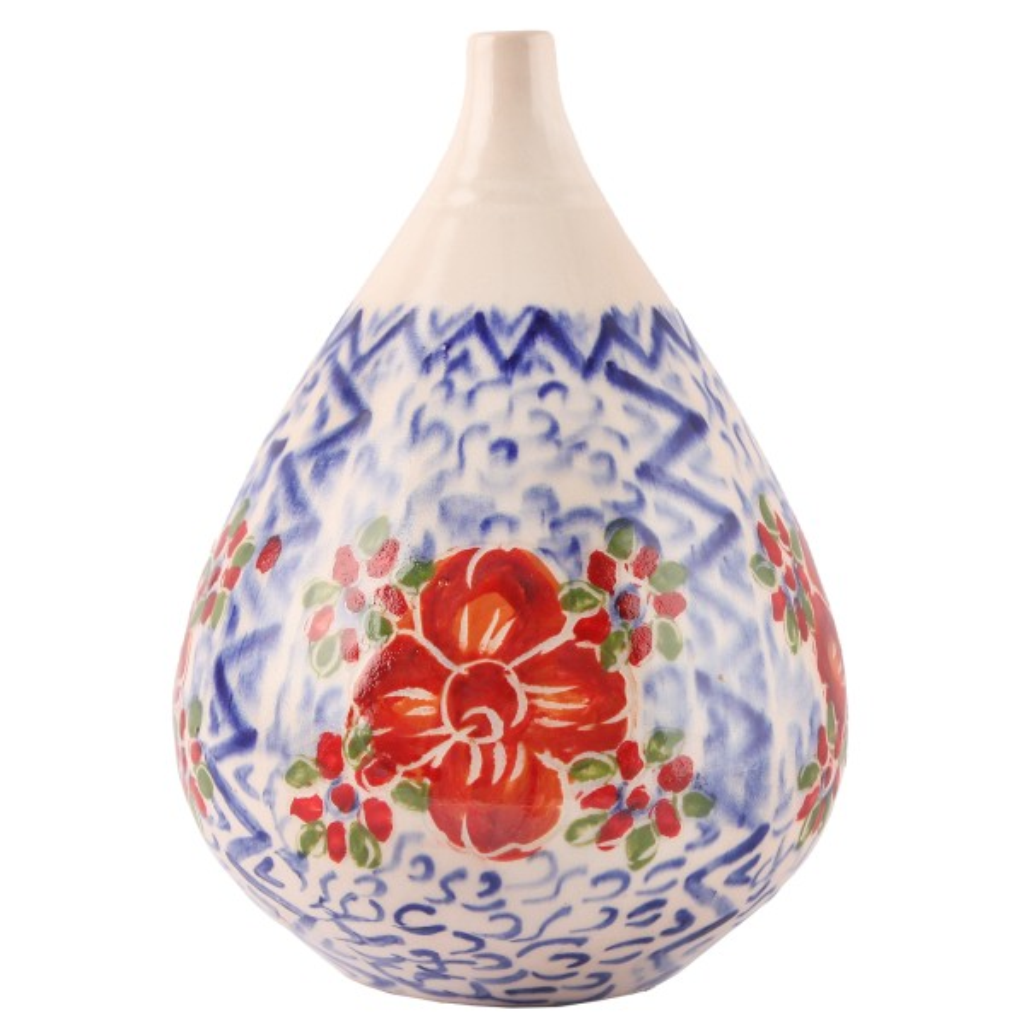 گلدان سرامیکی گالری فرتاش طرح توتک کد 171124