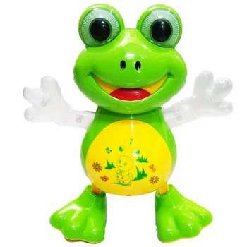 عروسک مدل Frog Dancing ارتفاع 21 سانتی متر