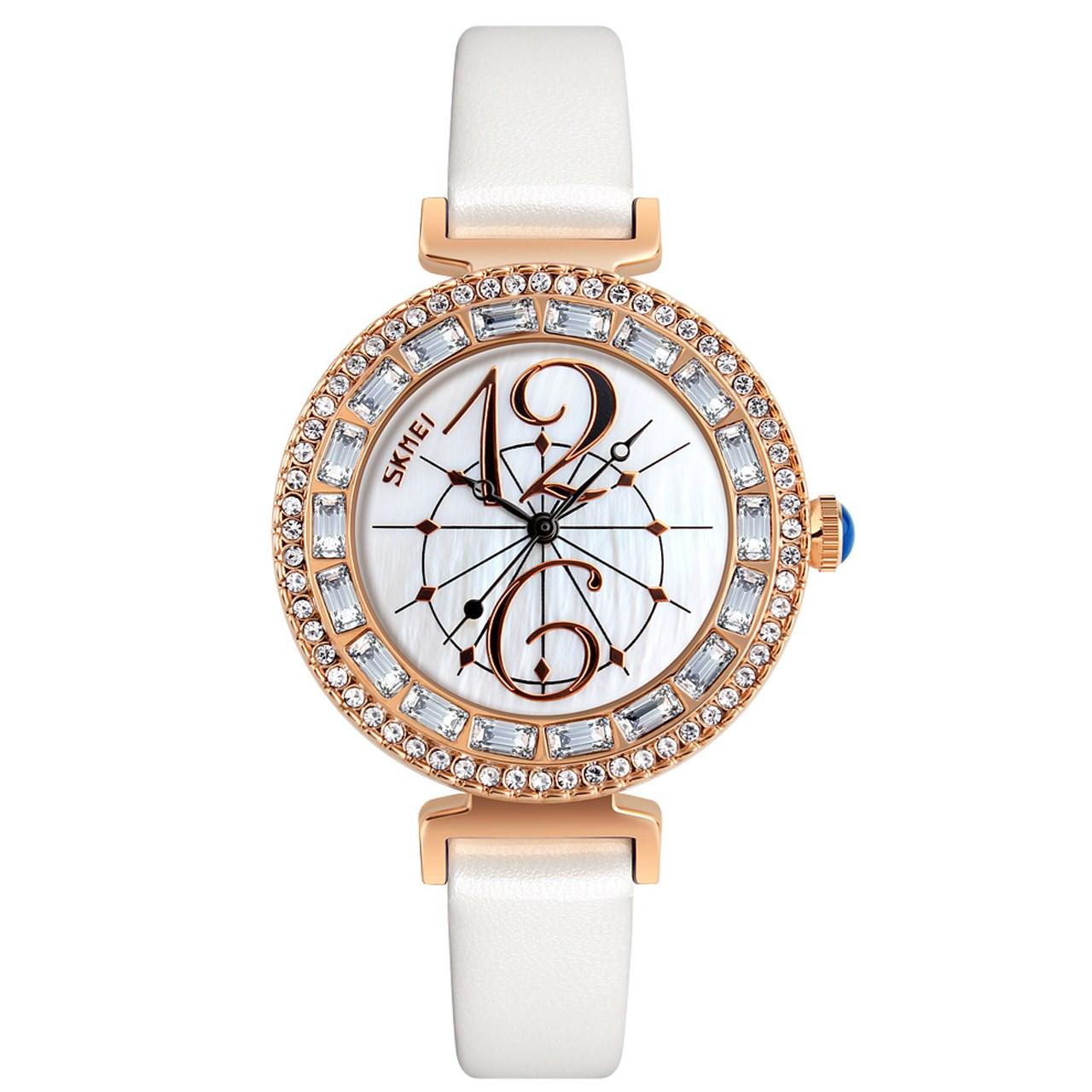ساعت مچی عقربه ای  زنانه اسکمی مدل9158 کد 03