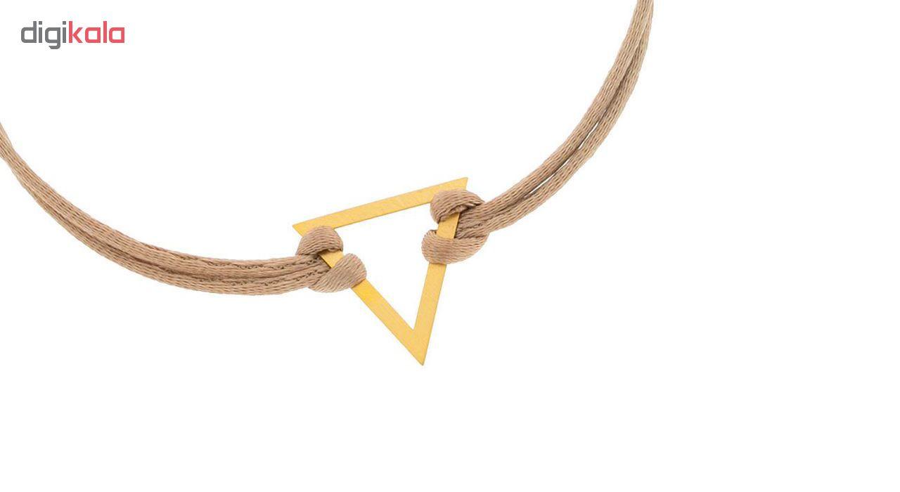 دستبند طلا 18عیار الن نار مدل EL93