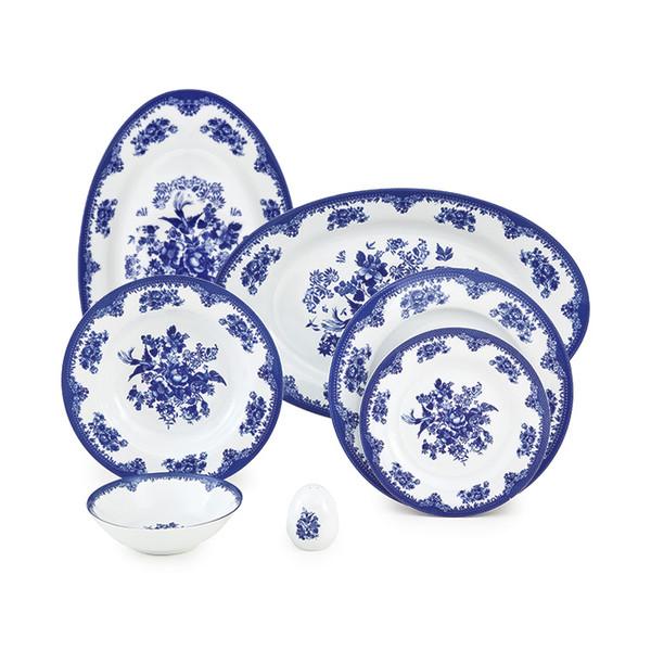 سرویس غذاخوری 28 پارچه چینی زرین ایران سری ایتالیااف مدل Florance 2 درجه عالی