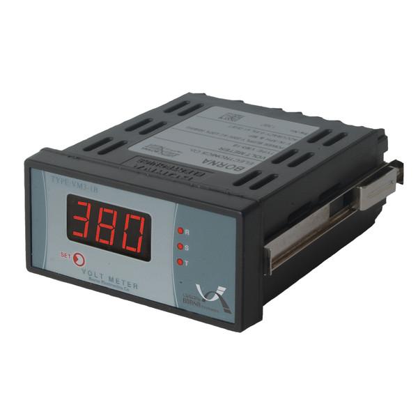ولت متر سه فاز برنا الکترونیک مدل VM3-1B