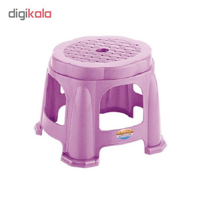 خرید اینترنتی چهارپایه حمام ناصر پلاستیک کد 330 اورجینال
