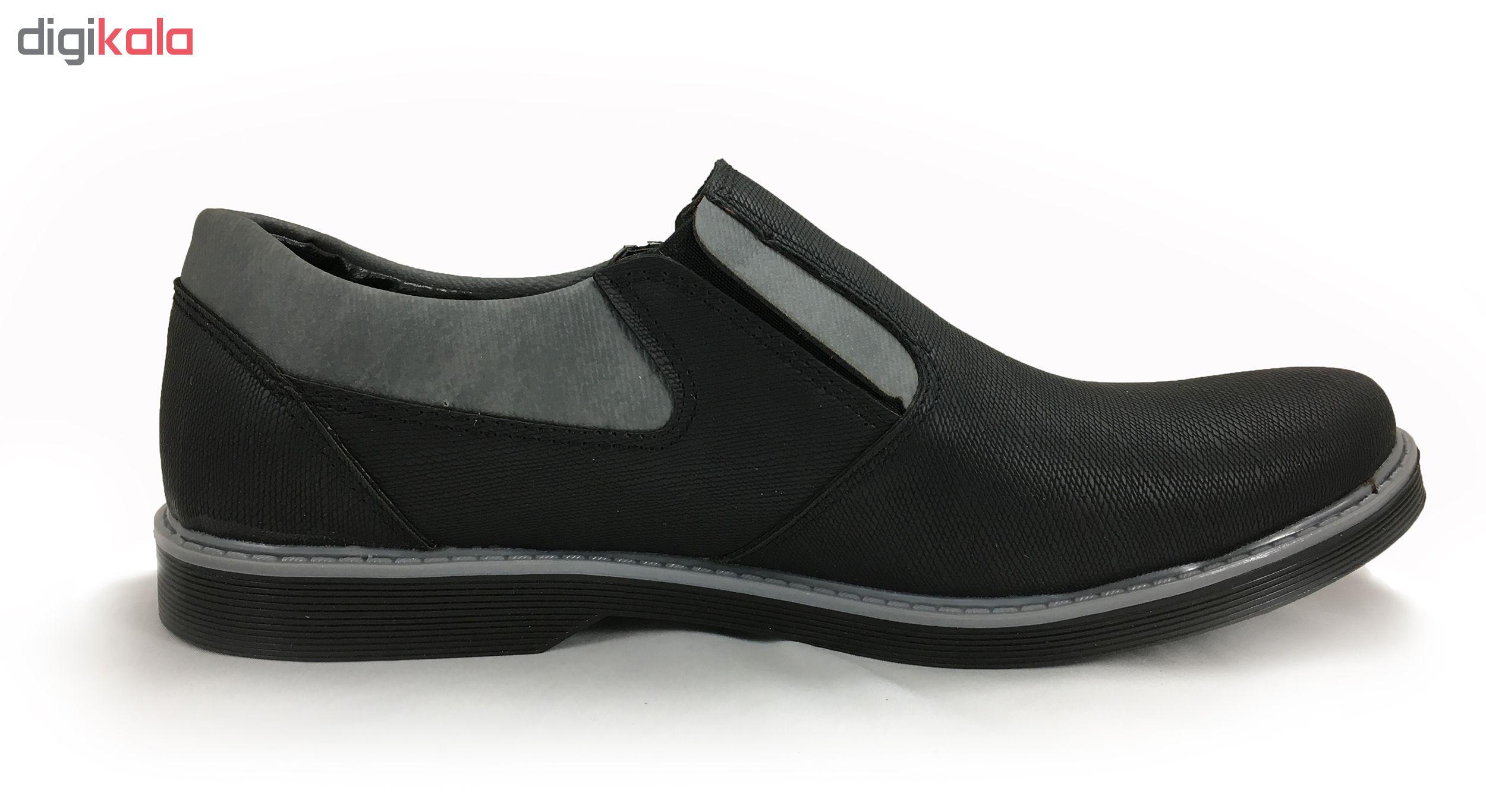 کفش مردانه مدل نقش جهان کد 3202