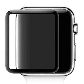 محافظ صفحه نمایش شیشه ای مدل full Glue 4D مناسب برای اپل واچ 44 میلی متر