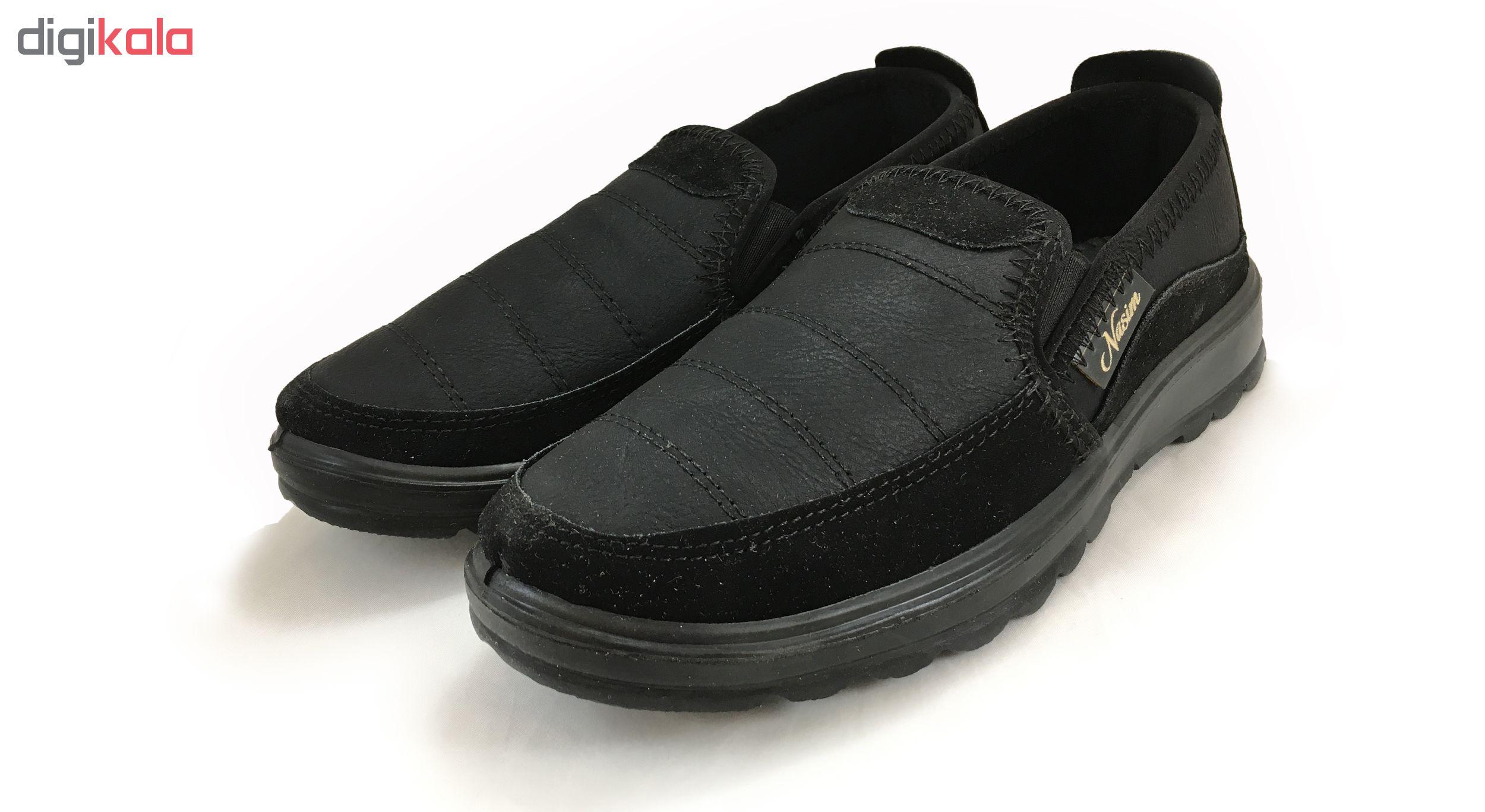 کفش مخصوص پیاده روی مردانه نسیم مدل فیروز کد 3209