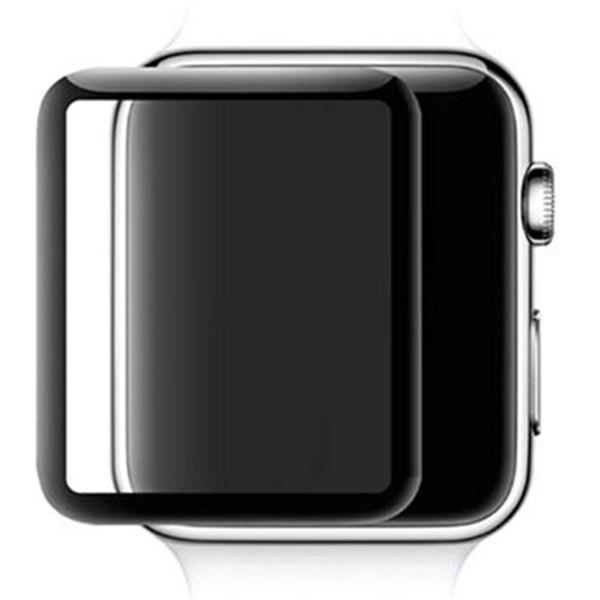 محافظ صفحه نمایش شیشه ای مدل full Glue 4D مناسب برای اپل واچ 40 میلی متر