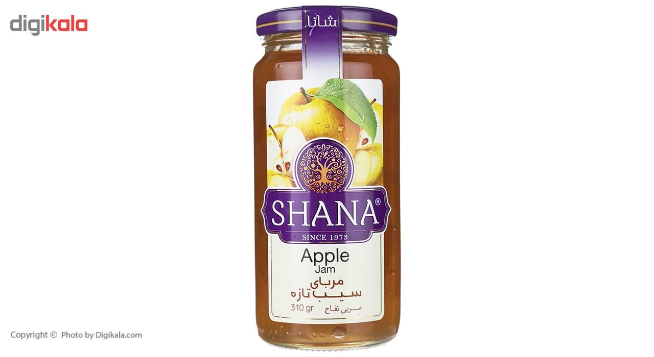 مربا سیب شانا - 310 گرم main 1 2