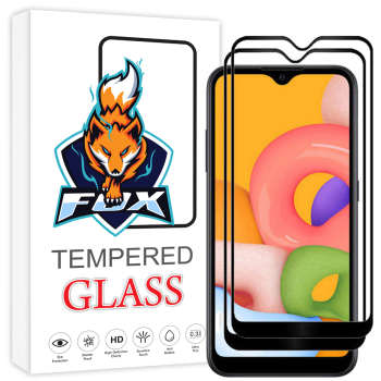 محافظ صفحه نمایش فوکس مدل PT001 مناسب برای گوشی موبایل سامسونگ Galaxy A01 بسته دو عددی