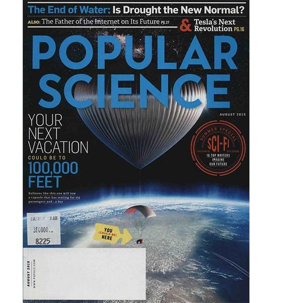 مجله پاپیولار ساینس - آگوست 2015