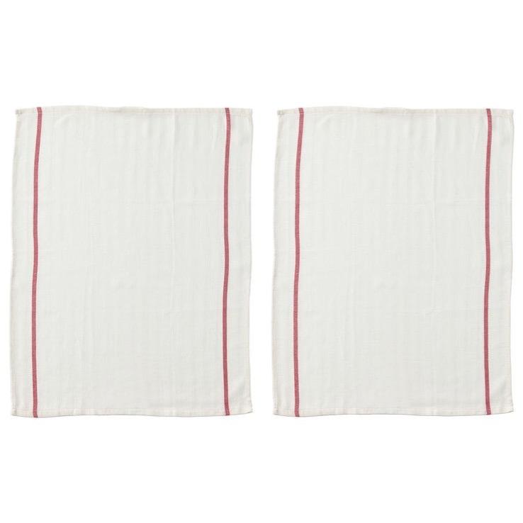 تصویر دستمال آشپزخانه ایکیا مدل TEKLA بسته 2 عددی IKEA TEKLA Tea Towel
