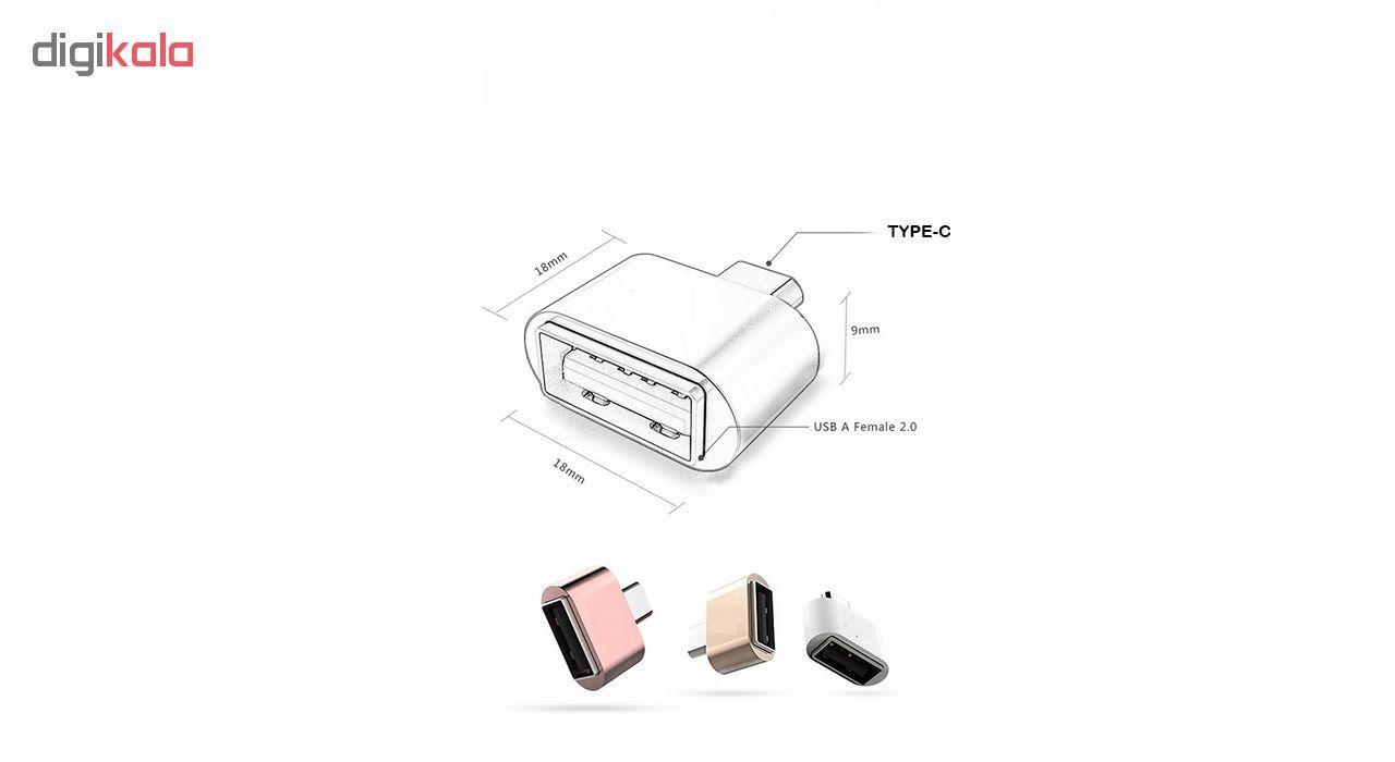 مبدل USB به USB-C مدل OTG PLUS USB main 1 2