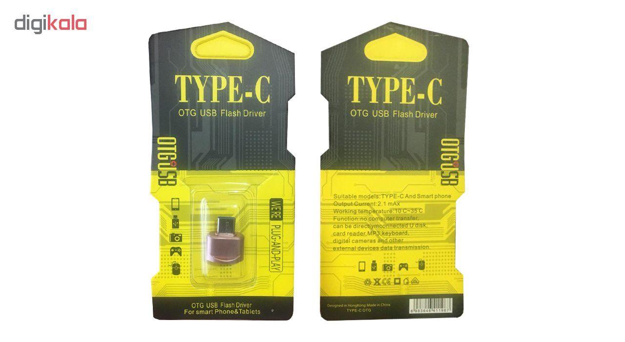 مبدل USB به USB-C مدل OTG PLUS USB main 1 6