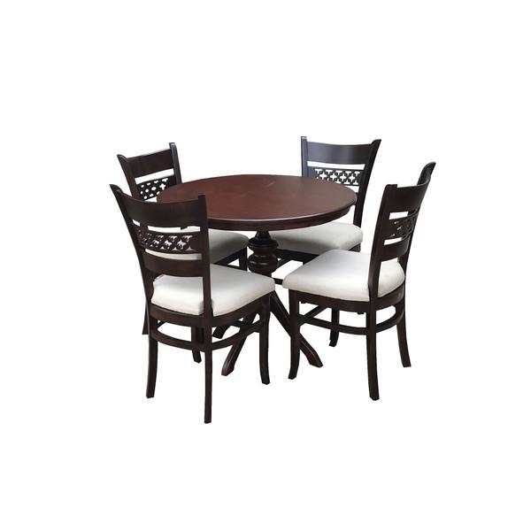 میز و صندلی ناهار خوری چوبی اسپرسان چوب z05