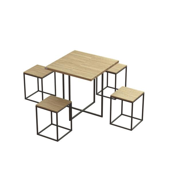 میز و صندلی ناهار خوری کد 19384