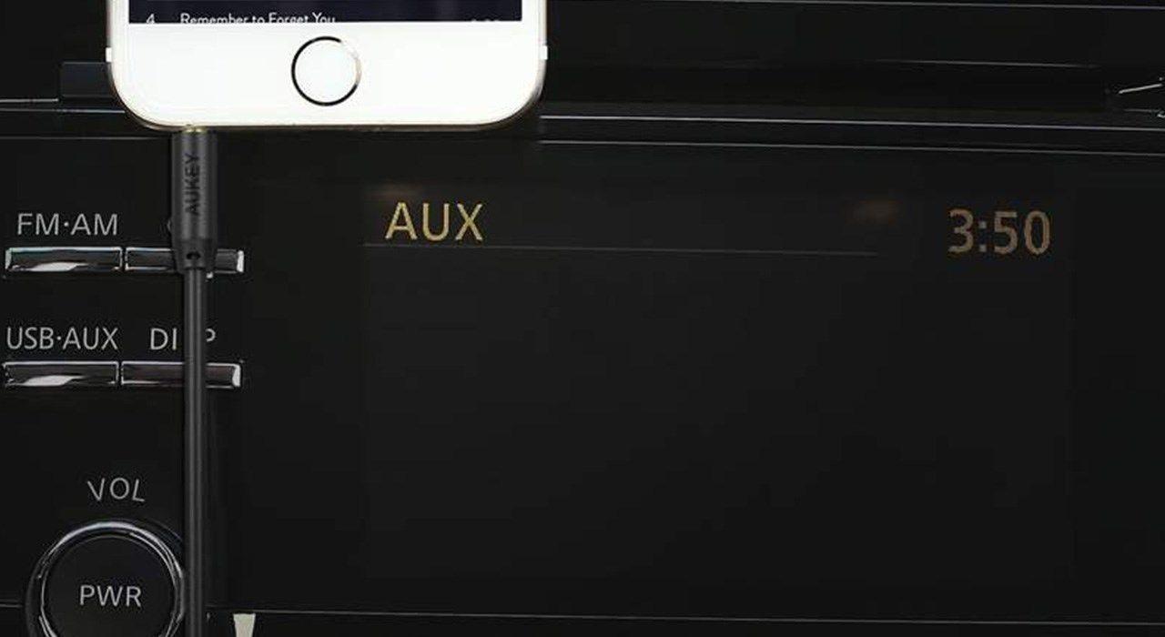 کابل AUX آکی مدل CB-V10 طول 1.2 متر main 1 5