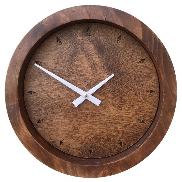 ساعت دیواری چوبی کد 12