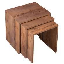 میز عسلی مدل ST1 مجموعه 3 عددی