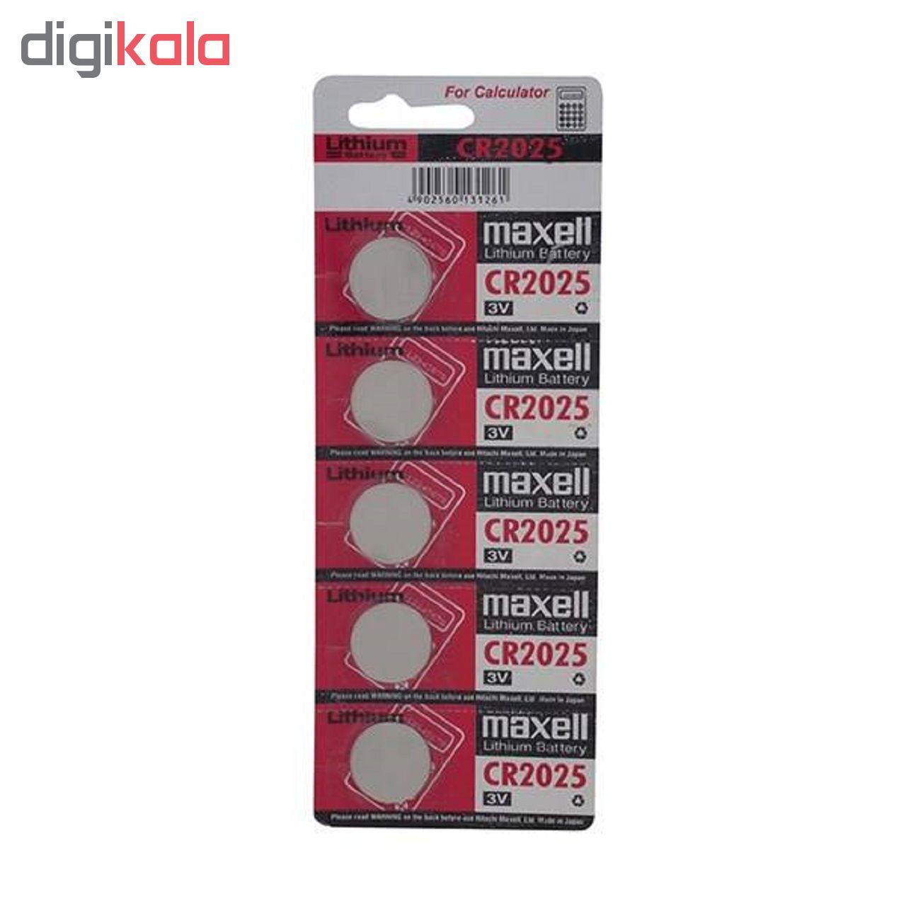 باتری سکه ای مکسل مدل CR2025 بسته 5 عددی main 1 1
