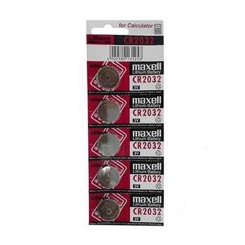 باتری سکه ای مکسل مدل CR2032 بسته 5 عددی