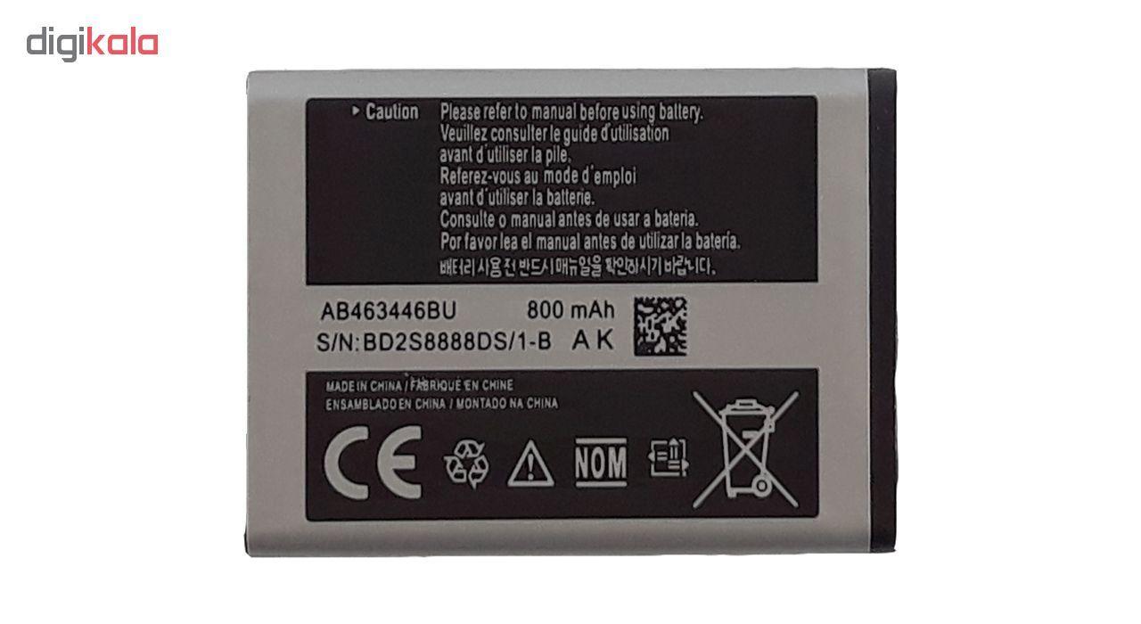 باتری موبایل مدل AB463446BU با ظرفیت 800 میلی آمپر ساعت مناسب برای گوشی سامسونگ E250 main 1 1