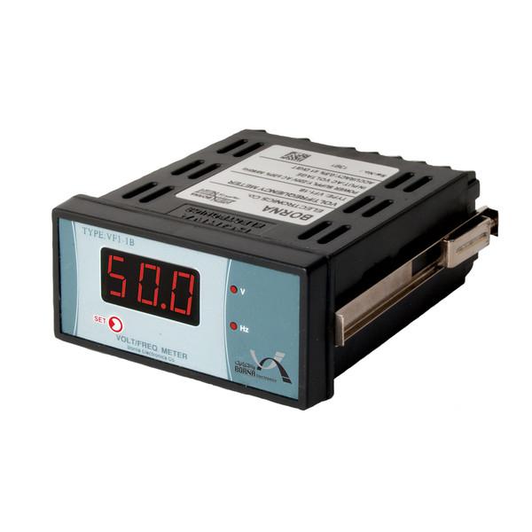 ولت متر-فرکانس متر تک فاز برنا الکترونیک مدل VF1-1B