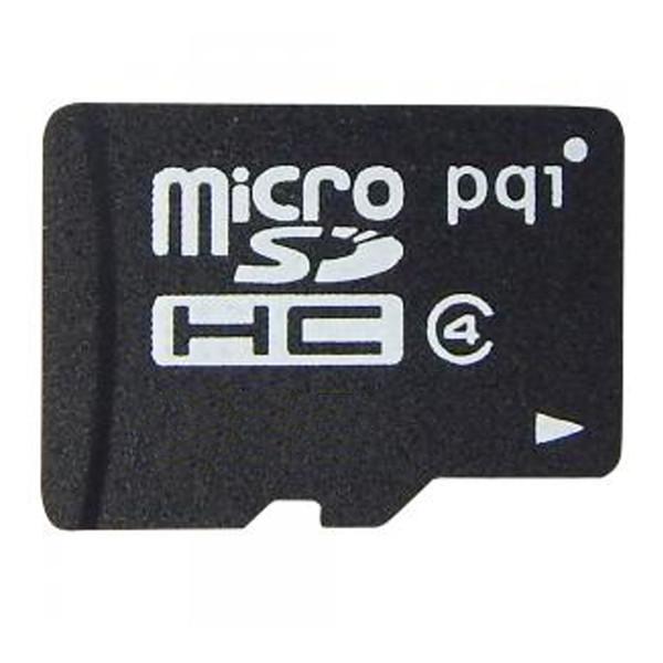 کارت حافظه microSDHC پی کیو آی کلاس 4 استاندارد SDA ظرفیت 4 گیگابایت