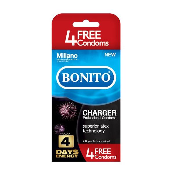 کاندوم بونیتو مدل Charger بسته ۱۶ عددی