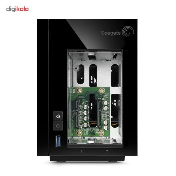 ذخیره ساز تحت شبکه سیگیت مدل Pro 2-Bay STDD8000200 ظرفیت 8 ترابایت