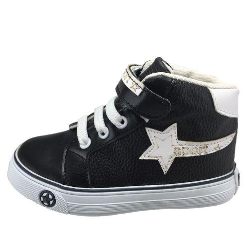 کفش بچگانه مدل B81 سفید-مشکی