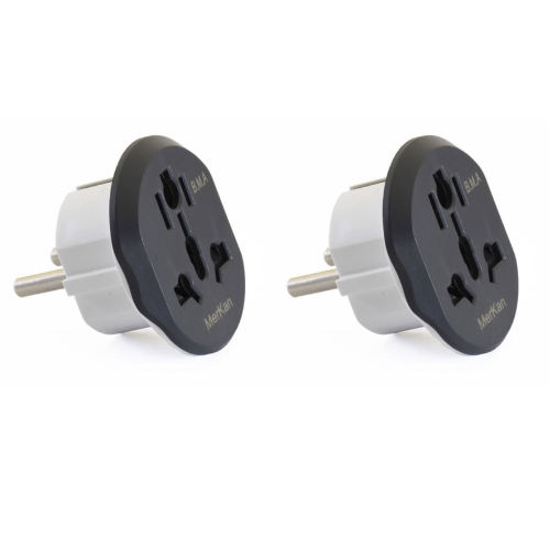 مبدل برق مرکان مدل KT-168 بسته دو عددی