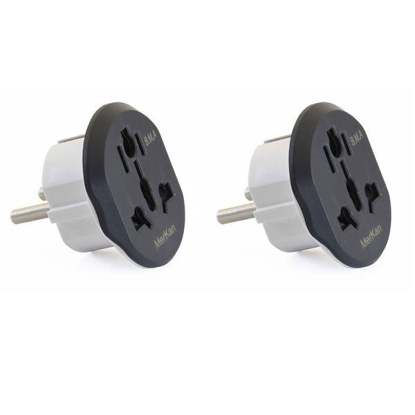 مبدل برق مرکان کد KT-168 بسته دو عددی