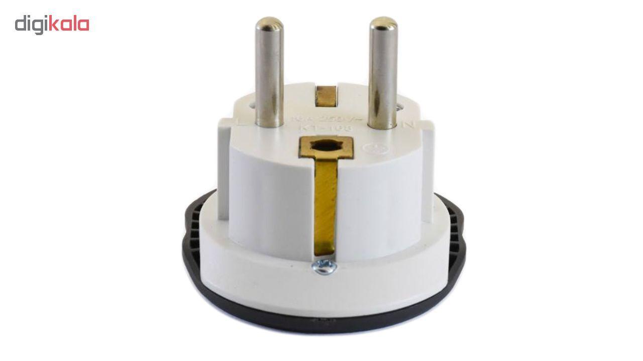 مبدل برق مرکان کد KT-168 بسته دو عددی  main 1 2