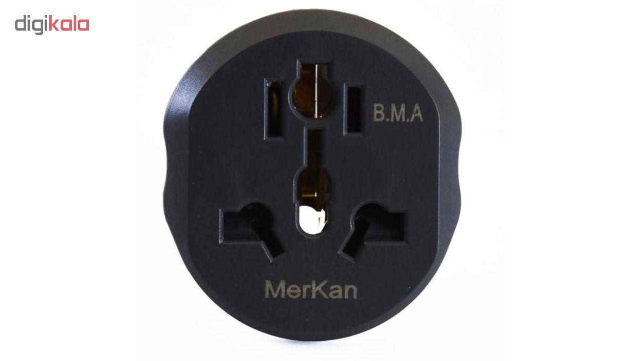 مبدل برق مرکان کد KT-168 بسته دو عددی  main 1 3