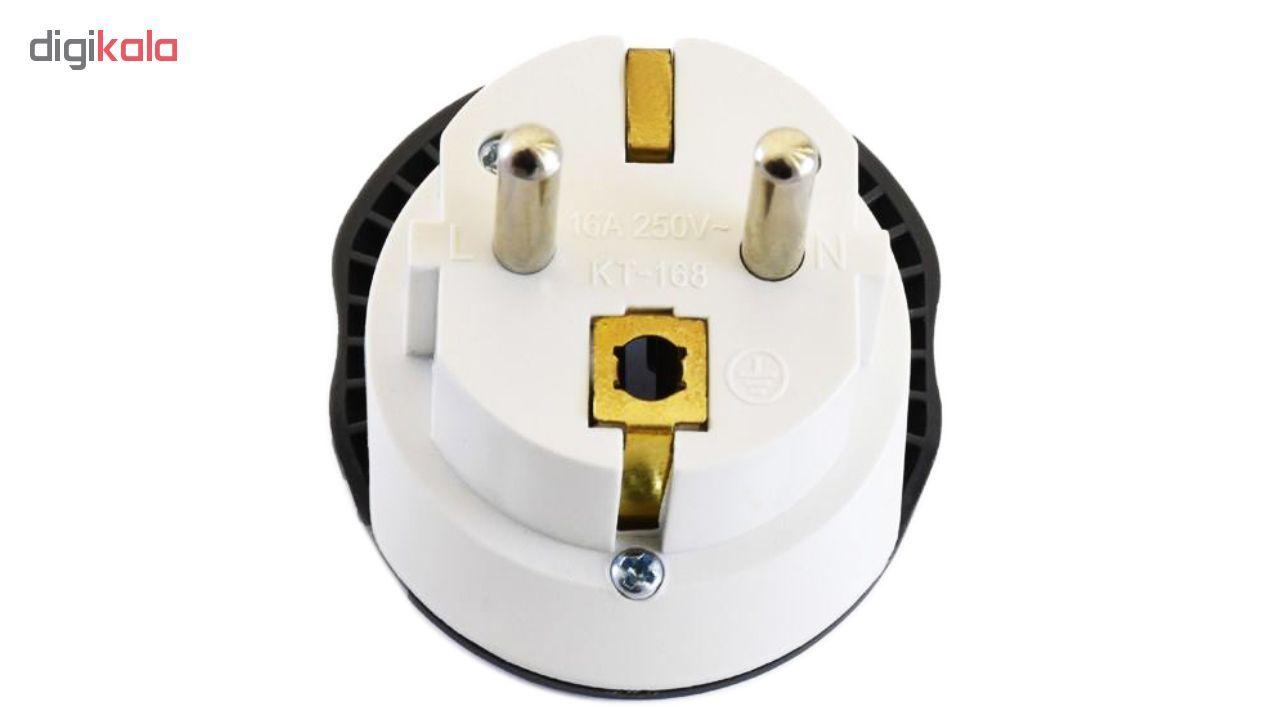 مبدل برق مرکان کد KT-168 بسته دو عددی  main 1 4