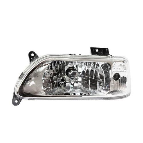 چراغ جلو چپ خودرو فن آوران پرتو الوند مدل MPL27 موتوردار مناسب برای پراید 131